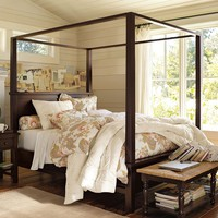 Farmhouse Canopy Bed | Pottery Barn