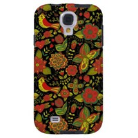 Flower Seamless Pattern Samsung Galaxy S4 Cover