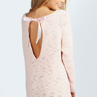 Alicia Ribbon Bow Back Jumper