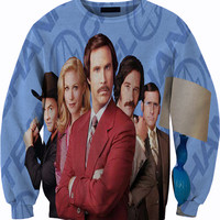 Anchorman Sweatshirt Crewneck Sweater