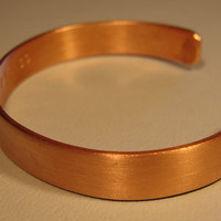 Copper Cuff Bracelet ready for Customization
