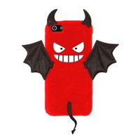 Couple Matching Devil Bat Phone Shell Case for Iphone4/s
