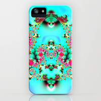 Turquoise iPhone & iPod Case by Shalisa Photography