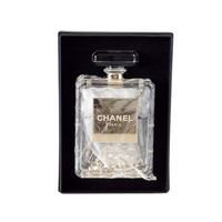 CHANEL bag Clear Perfume Bottle plexi glass Limited Edition New