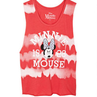 Tie-Dye Minnie Mouse Muscle Tank