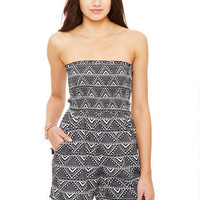 Smocked Tube Aztec Romper