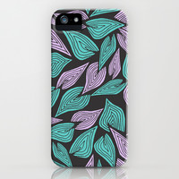 Winter Wind iPhone & iPod Case by Pom Graphic Design