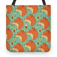 Spirit Fox Pattern (tote)
