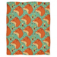 Spirit Fox Pattern (Blanket)