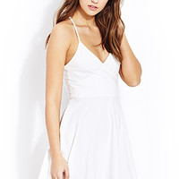 Night Moves Surplice Dress