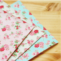 Rose Fabric Sticker