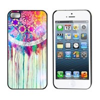 Aokdis New Hot Selling Fashional Individualized Hard Back Case for Iphone 5 5g 5s (Colorful Dream Catcher)