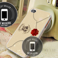 Harry Potter Hogwarts School Envelope - iPhone 4/4s/5/5S/5C Case - Samsung Galaxy S2/S3/S4 Case - Black or White