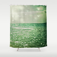 Sea of Happiness Shower Curtain by Olivia Joy StClaire