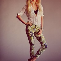 Free People Tropical Rain Skinny