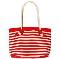 Papaya Clothing Online :: STRIPE TOTE BAG
