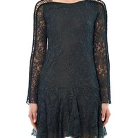 Magda lace-embroidered dress