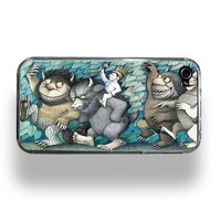 Where The Wild Things Are Apple iPhone 4 Custom by RecordWallets
