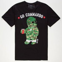 RIOT SOCIETY Go Commando Mens T-Shirt
