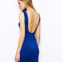 ASOS Low Back Bodycon Dress