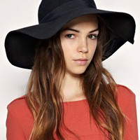 ASOS 70s Floppy Felt Hat at ASOS