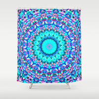 *** ARABESQUE *** Shower Curtain by Monika Strigel