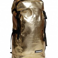 Sprayground Gold Brick Top Loader Backpack