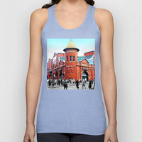 The Market Unisex Tank Top by Limmyth