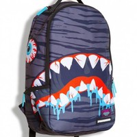 Sprayground x Miska Collaboration Shark Backpack Bag