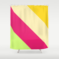 Tropical Shower Curtain by Ornaart