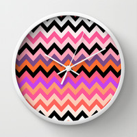 Tiger's Ice Cream Wall Clock by Ornaart