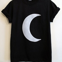 black crescent moon shirt