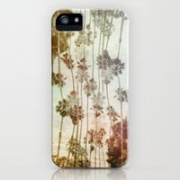 Palms Beach iPhone & iPod Case by Danny Ivan