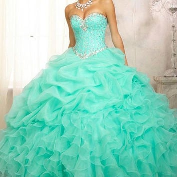 HOT! New Formal Prom Party Ball Gown Bridal Wedding Quinceanera Dress Size 2-30+