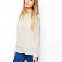ASOS Top with Double Layer