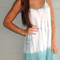 Tie Dye Beach Bum Dress