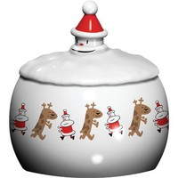 Alessi Let it Snow Biscuit Box - Style # AMGI30-DDDD, Modern Decorative & Seasonal items, Contemporary Decorative & Seasonal items, Graf & Lantz, Klein Reid, Alessi at SwitchModern.com