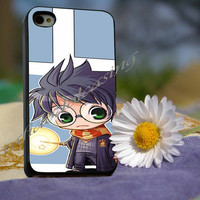 harry potter cartoon Case For iPhone 4/4s, iPhone 5/5S/5C, Samsung S3 i9300, Samsung S4 i9500 *rafidodolcasing*