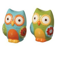 Vintage 1970's Style Owl Salt & Pepper Set