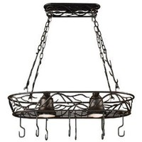 Kenroy Home Hanging Island Rack