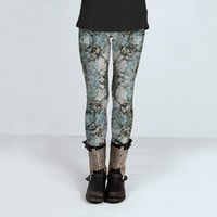 Winter Motif Pattern by Daniel Ferreira-Leites (Leggings)