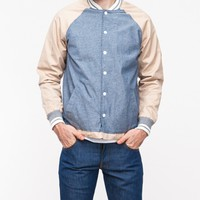 Native Youth / Chambray Contrast Coach Jacket