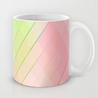 Re-Created Vertices No. 4 Mug by Robert S. Lee