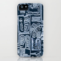 tribal pattern iPhone & iPod Case by Marianna Tankelevich