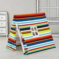 Indoor Explorer Pup Tents (Multi Stripe) in Playhomes | The Land of Nod