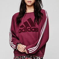 Retro Gold Vintage Adidas Crew Fleece at PacSun.com