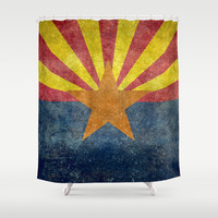 Arizona, the 48th state! Shower Curtain by Bruce Stanfield