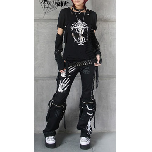 trendy mens womens rock clothes from liquiwork