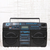 Lasonic Boombox in Black - Urban Outfitters