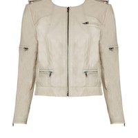 alice + olivia | CAM ZIPPER SLEEVE BIKER JACKET